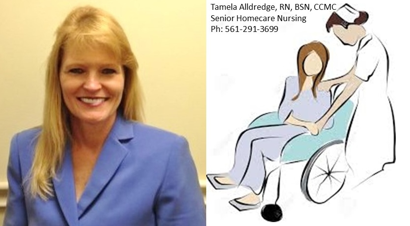 Tamela Alldredge, RN, BSN, CCMC  25+yrs Senior Health Care Management